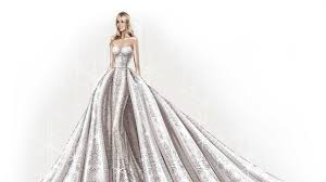 sofia vergara u0027s wedding dress as told by zuhair murad vogue