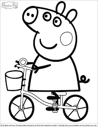 kids download coloring pages peppa pig 98 coloring