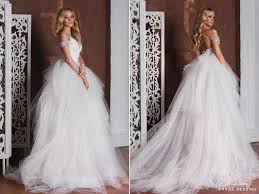 whimsical wedding dress gorgeous the shoulder wedding dress from ange etoiles