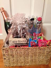 engagement gift baskets gift ideas for newly wedding lading for