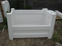 Backyard Garbage Cans by Garbage Can Holders By Snk Fence 609 242 7925 Snk Pinterest