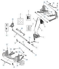 tj wrangler suspension and steering 4 wheel parts