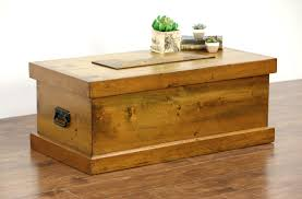 Country Coffee Tables by Sold Country Pine Antique 1900 U0027s Carpenter Tool Chest Or Trunk
