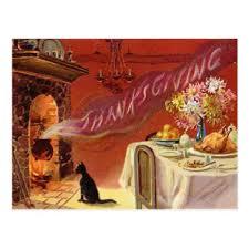 vintage thanksgiving postcards zazzle