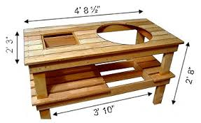 table plans big green egg pdf things to do with pallets
