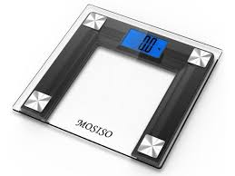 Smart Bathroom Scale Mosiso High Accuracy Digital Bathroom Scale With 4 3