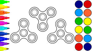 fidget toys coloring book coloring for kids coloring pages