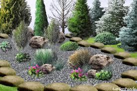 rock garden designs home design