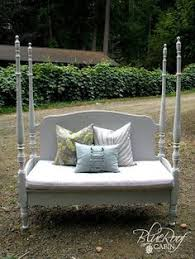 Bench Made From Bed Headboard Bench Made From An Old Bed Frame House Ideas Pinterest Old