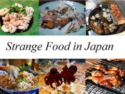 cuisine japonaise ces plats étranges de la cuisine japonaise