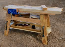 a portable saw bench mini workbench by george crawford