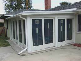 inspirations how to enclose a patio with almost finished enclosing