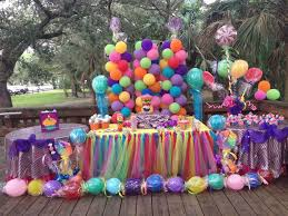 party centerpieces for tables decorations wonderful carnival kids party decor design ideas