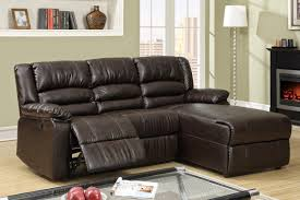 Sectional Leather Sofa With Recliner Sofas Decoration - Small leather sofas for small rooms 2