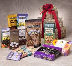 candy gift basket makana loa premium gift tower with macadamia nuts chocolates and