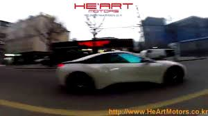 Bmw I8 Exhaust - bmw i8 he u0027art exhaust system e valve activated road test youtube