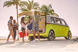 volkswagen van hippie it u0027s official the vw bus is back and it u0027s electric u2013 newsroom