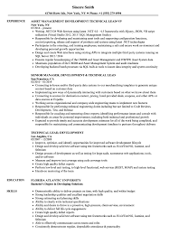 sle of resume technical lead development resume sles velvet