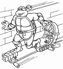 12 images of ninja turtle christmas coloring pages mutant ninja