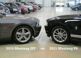 2012 mustang v6 hp 2010 mustang gt vs 2011 mustang v 6 who wins