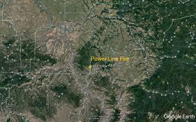 Idaho Fires Map Update On Corral Creek U0026 Powerline Fires Dailyfly Com Lewis