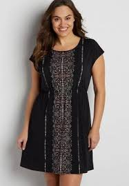 plus size patterned cold shoulder dress maurices hussy in it