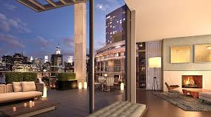 unique u0026 spectacular penthouses for sale in soho nyc one vandam nyc