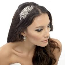 wedding hair bands tiara pearl hair accessory