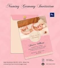 ceremony card wording naming ceremony invite for baby paavan karthik hi