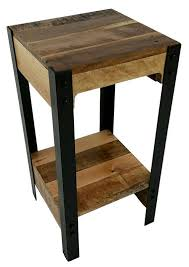 Wood Plans For Small Tables by 25 Best Wood Side Tables Ideas On Pinterest Reclaimed Wood Side