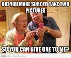 Smartphone Meme - ma grandparents with a smartphone meme by simon weichsel