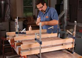 table top glue up cling cauls the secret to great glue ups finewoodworking