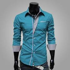 s formal two colour dress shirt deal