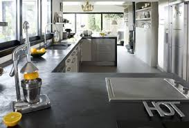 cuisine béton ciré refaire plan de travail cuisine avec béton ciré mercadier