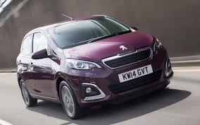 peugeot cars 2015 peugeot 108 review