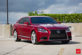 lexus wheels ls 460 lexus ls 460 red vossen wheels cars sedan wallpaper wallsdream