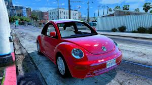 light pink volkswagen beetle volkswagen beetle 2003 add on replace gta5 mods com