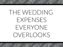 Wedding Expenses List Spreadsheet Wedding Budget Blunders The Wedding Expenses Everyone Overlooks