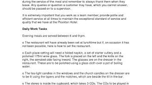 Waiter Resume Example by Waiter Cover Letter