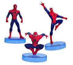 marvel cake toppers ultimate cake topper 3 figure set birthday