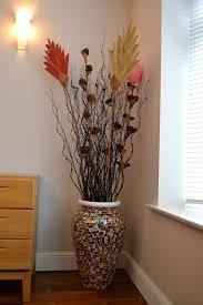 Large Vases Uk Mosaic Floor Vase Mixed Clay