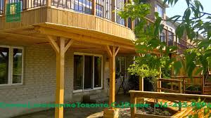 Walk In Basement 2 Level Cedar Deck With Walkout Basement Youtube