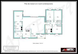 plan maison en l plain pied 3 chambres plan maison 100m2 3 chambres house building projects