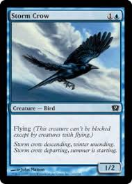 Storm Crow Meme - storm crow ninth edition community gatherer magic the