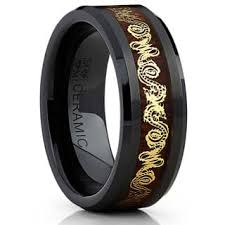 black wedding band black wedding rings for less overstock
