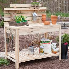 amusing potting bench design with sink ideas exterior segomego