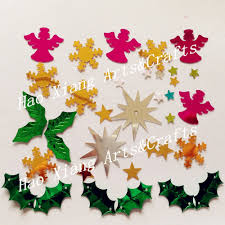 multi color christmas confetti sequins in party favors from home