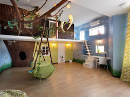 Jungle Wallpaper Kids Room by Fun Rooms For Kids Room Design Ideas