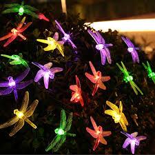 video review best selling qedertek dragonfly solar christmas