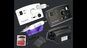unpacking electric nail drill machine file bits pedicure manicure